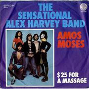 Click here for more info about 'Alex Harvey (UK) - Amos Moses'