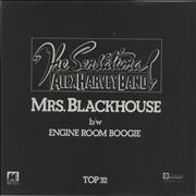 "Alex Harvey (UK) Mrs Blackhouse UK 7"" vinyl"