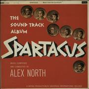 Click here for more info about 'Alex North - Spartacus - VG'
