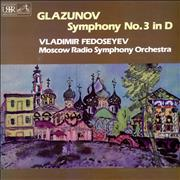 Click here for more info about 'Alexander Konstantinovich Glazunov - Symphony No. 3 In D'