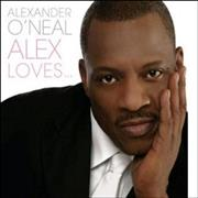 Click here for more info about 'Alexander O'Neal - Alex Loves'