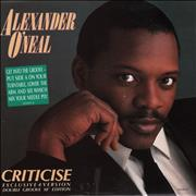 Click here for more info about 'Alexander O'Neal - Criticise'