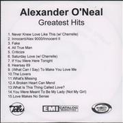 Click here for more info about 'Alexander O'Neal - Greatest Hits'