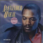 Click here for more info about 'Alexander O'Neal - Hearsay - Stickered'