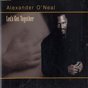 Click here for more info about 'Alexander O'Neal - Let's Get Together'
