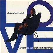 Click here for more info about 'Alexander O'Neal - Love Makes Sense For Quiet Storm Radio'