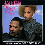 Click here for more info about 'Alexander O'Neal - Never Knew Love Like This'