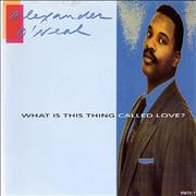 Click here for more info about 'Alexander O'Neal - What Is This Thing Called Love?'
