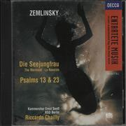 Click here for more info about 'Alexander Zemlinsky - Die Seejungfrau · Psalms 13 & 23'