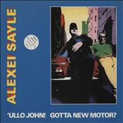 Click here for more info about 'Alexei Sayle - 'Ullo John! Gotta New Motor? - not suitable for minors sticker'