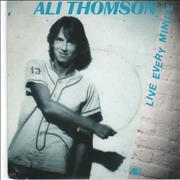 Click here for more info about 'Ali Thomson - Live Every Minute - A-Label + P/S'