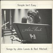 Click here for more info about 'Simple Isn't Easy - Songs By John Lewis & Red Mitchell'