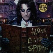 Click here for more info about 'Alice Cooper - Along Came A Spider - Clear Vinyl'