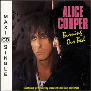 Click here for more info about 'Alice Cooper - Burning Our Bed'