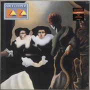 Click here for more info about 'Alice Cooper - DaDa - Orange Swirl Vinyl - Sealed'