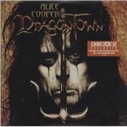 Alice Cooper Dragontown - Orange Vinyl - RSD - Sealed USA 2-LP vinyl set