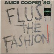 Click here for more info about 'Alice Cooper - Flush The Fashion - Green Swirl Vinyl - Sealed'