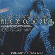 Click here for more info about 'Alice Cooper - Good To See You Again - Live 1973: Billion Dollar'