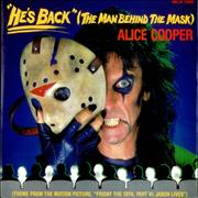 Click here for more info about 'Alice Cooper - He's Back - Poster Sleeve'
