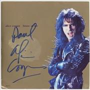 Click here for more info about 'Alice Cooper - House Of Fire - autographed'