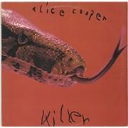 Alice Cooper Killer - Burbank Label UK vinyl LP