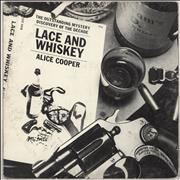Alice Cooper Lace And Whiskey - EX USA vinyl LP