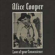 Click here for more info about 'Alice Cooper - Love At Your Convenience p/s'