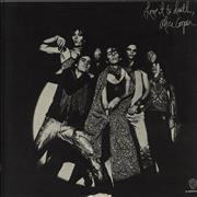 Alice Cooper Love It To Death - Uncensored sleeve Japan vinyl LP