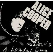 Click here for more info about 'Alice Cooper - Love's A Loaded Gun - Sticker'