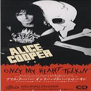 Click here for more info about 'Alice Cooper - Only My Heart Talkin'