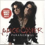 Alice Cooper Paranormal - White Vinyl Germany 2-LP vinyl set