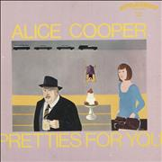 Click here for more info about 'Alice Cooper - Pretties For You - Censored sticker'