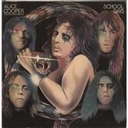 Alice Cooper School Days - EX UK 2-LP vinyl set