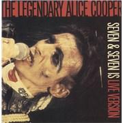 "Alice Cooper Seven & Seven Is + Gatefold Sleeve UK 7"" vinyl"