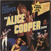 Click here for more info about 'Alice Cooper - The Alice Cooper Show - White WB label With Lines'