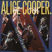 """Alice Cooper Who Do You Think We Are - Live UK 12"""" vinyl"""