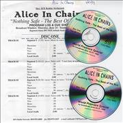 Click here for more info about 'Alice In Chains - Nothing Safe - The Best Of The Box World Premiere Special'