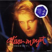 Click here for more info about 'Alison Moyet - All Cried Out + Graphic Postcard'