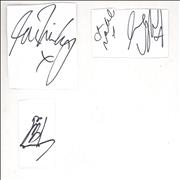Click here for more info about 'All Saints - Full Set of Autographs'