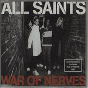 Click here for more info about 'All Saints - War Of Nerves'