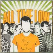 Click here for more info about 'All Time Low - Put Up Or Shut Up - Sealed'