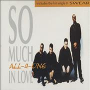 Click here for more info about 'All-4-One - So Much In Love'