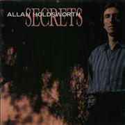 Allan Holdsworth Secrets UK vinyl LP