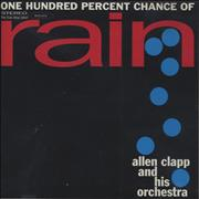 Click here for more info about 'Allen Clapp - One Hundred Percent Chance Of Rain'