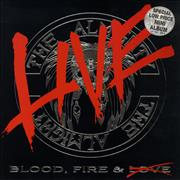 Click here for more info about 'The Almighty - Blood Fire & Live - Autographed'