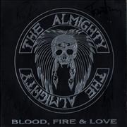 Click here for more info about 'The Almighty - Blood Fire & Love - Autographed'
