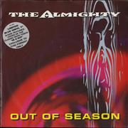 Click here for more info about 'The Almighty - Out Of Season - Blue Vinyl'