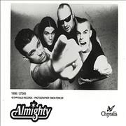 Click here for more info about 'The Almighty - Publicity Photograph'
