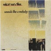 """Alphaville Sounds Like A Melody Portugal 7"""" vinyl"""