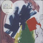 Click here for more info about 'Alt-J - This Is All Yours'